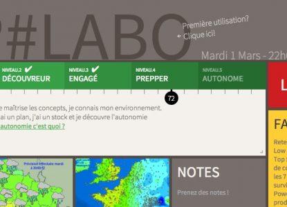 Interface Labo NoPanic