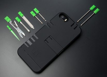 Coque de protection multitool pour iPhone
