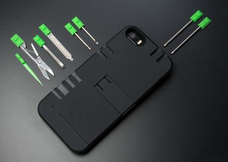 Coque de protection multitool pour iPhone