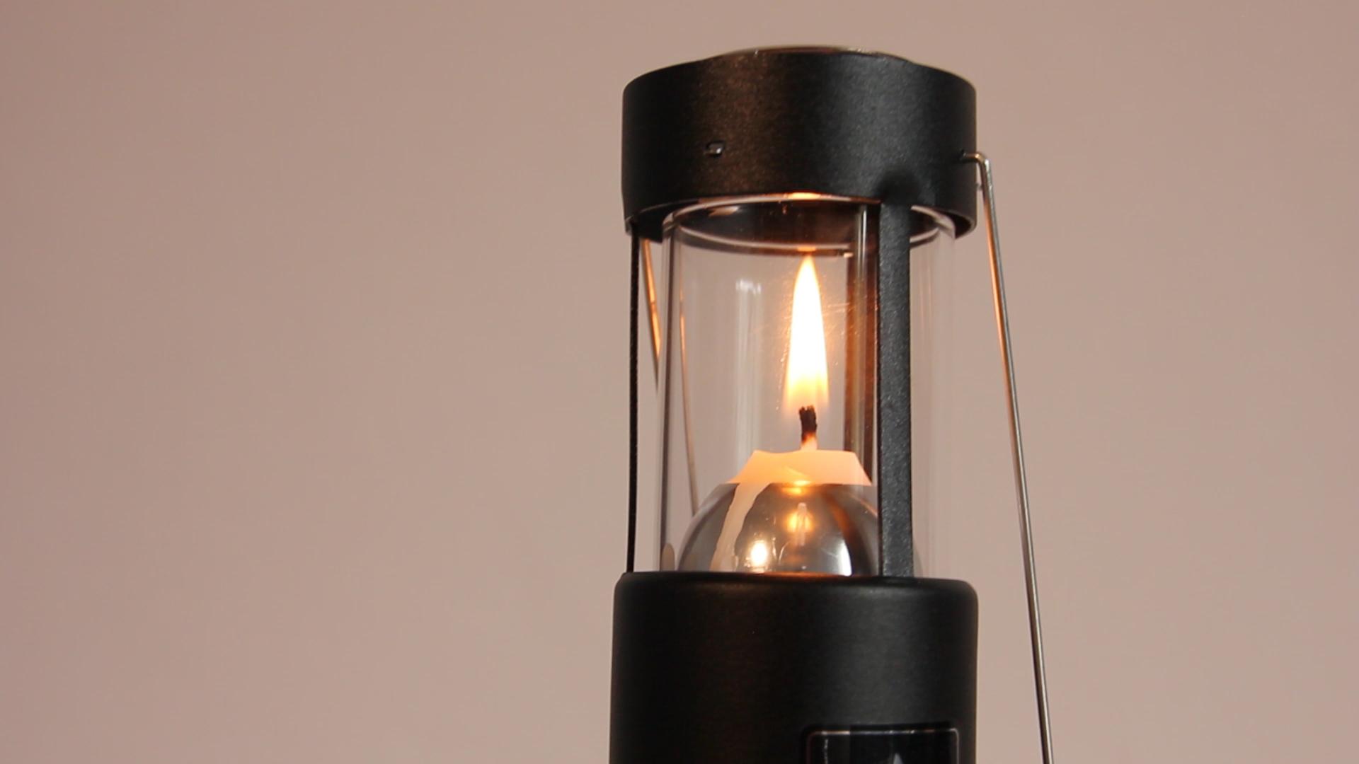 Cheminée en verre lanterne uco original