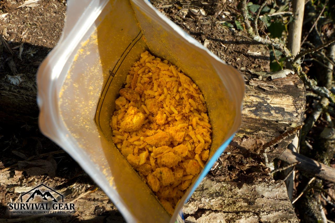 Chicken Korma lyophilisé