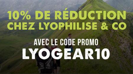 Code promo à valoir sur le site de Lyophilise.fr