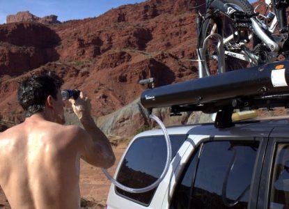 douche solaire Road-Shower