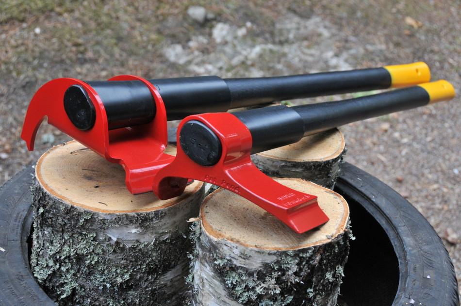 Vipukirves rend la fente du bois aisée