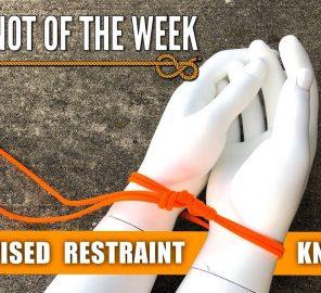 Des menottes improvisées en corde pour contrôler un intru