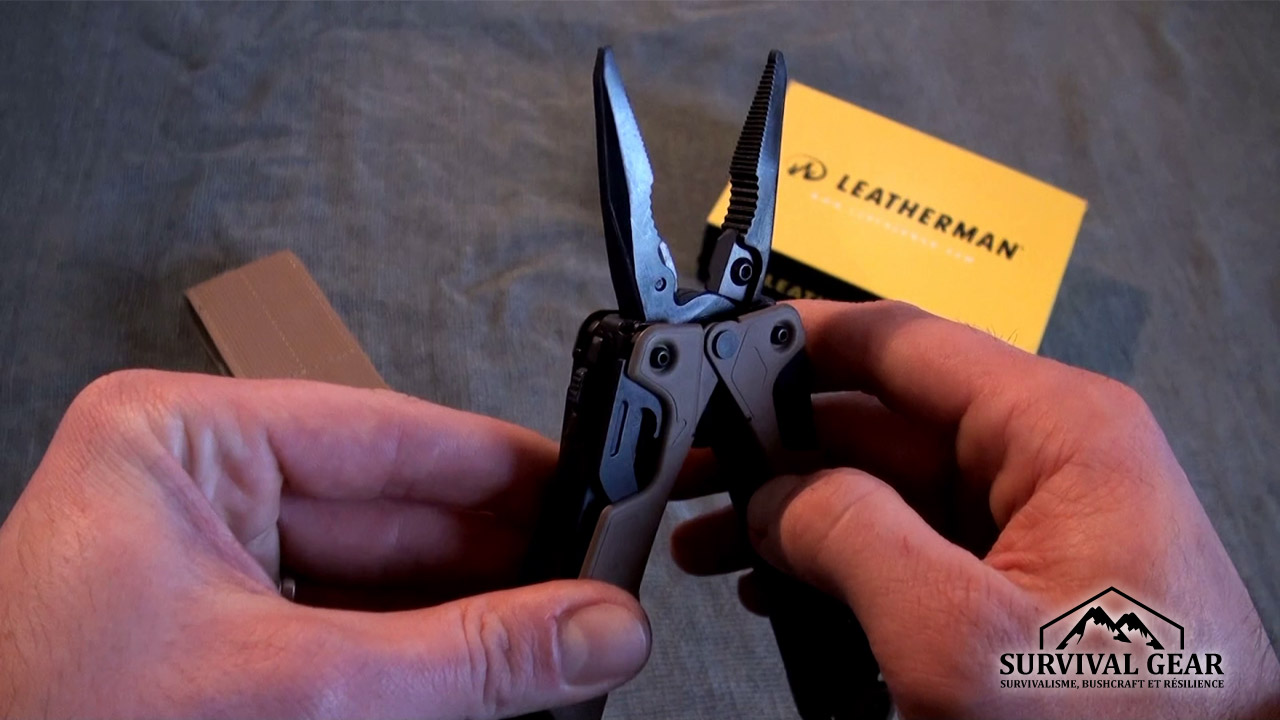 Pince coulissante leatherman OHT