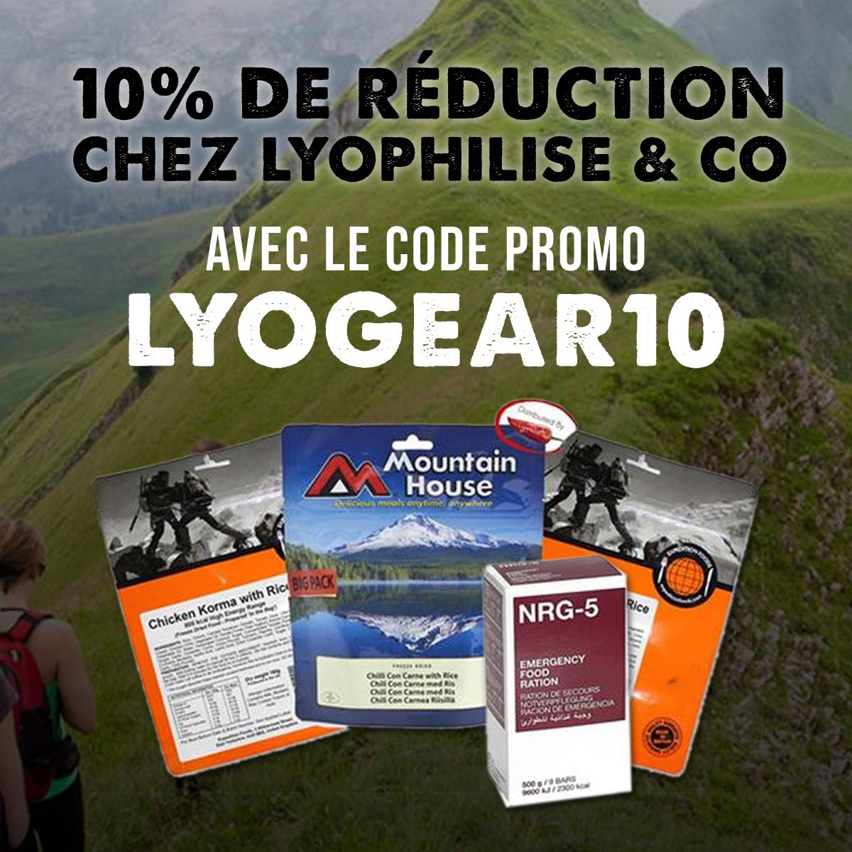 Code promo Lyophilise.fr