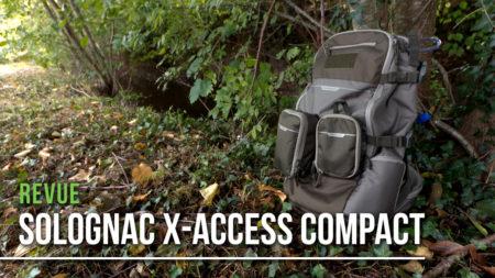Revue du sac à dos Solognac X-Access compact
