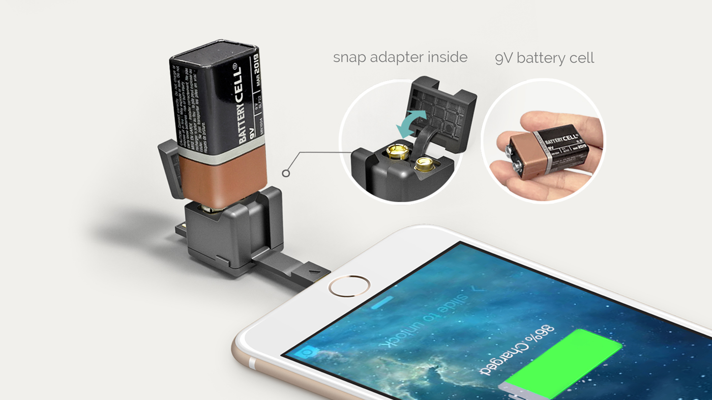Recharger Son Smartphone Avec Une Pile 9 Volts Voici 2 Moyens De Le Faire Survival Gear